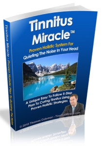 Tinnitus Miracle System Review – A PDF eBook by Thomas Coleman